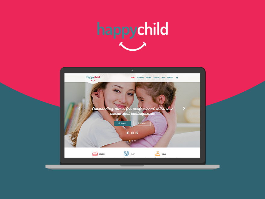 HappyChild - Kindergarten WordPress Theme